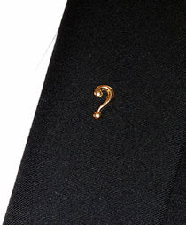 Question Mark Lapel Pin