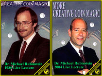 Dr. Michael Rubinstein's Creative & More Creative Coin Magic Video Set