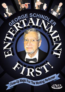 Entertainment First! DVD (George Schindler)