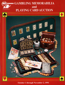 Gambling Memorabilia & Playing Card Auction Catalog (Autographed)