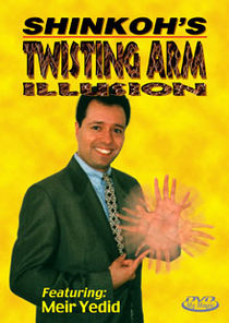 Twisting Arm Illusion DVD (Shinkoh, Meir Yedid)