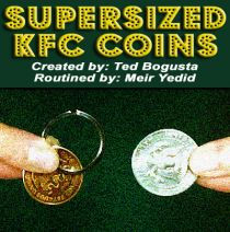 Supersized KFC Coins
