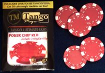 TUC Red Poker Chip Set (Marcelo Insua)