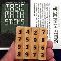 Magic Math Sticks (Diamond Jim Tyler)