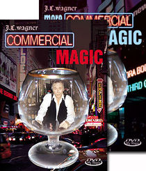 J.C. Wagner's Commercial Magic 2-DVD Set