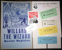 Willard The Wizard Ephemera Package