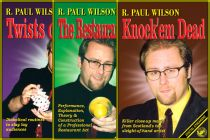R. Paul Wilson's Knock'Em Dead 3-Video Set