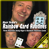 Rainbow Card Routines Video (Meir Yedid)