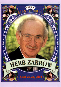 Herb Zarrow Commemorative FFFF Postcard